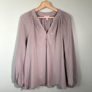 Lilly Pulitzer silk top size medium